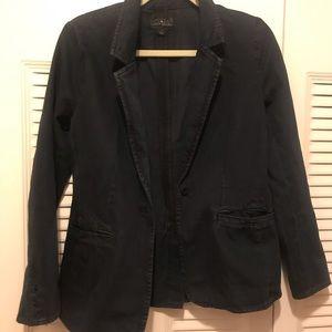LuckyBrand Navy Denim Blazer Size S